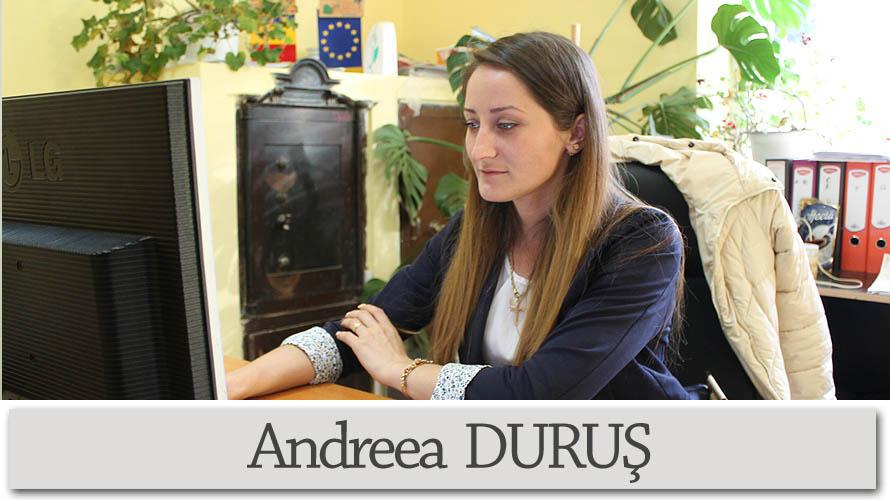 Andreea DURUS- consilier 1