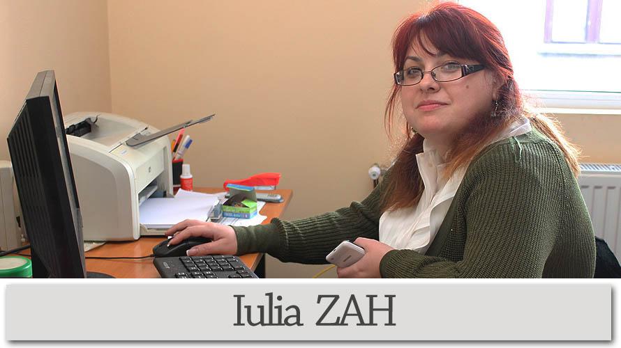 Iulia ZAH - consilier